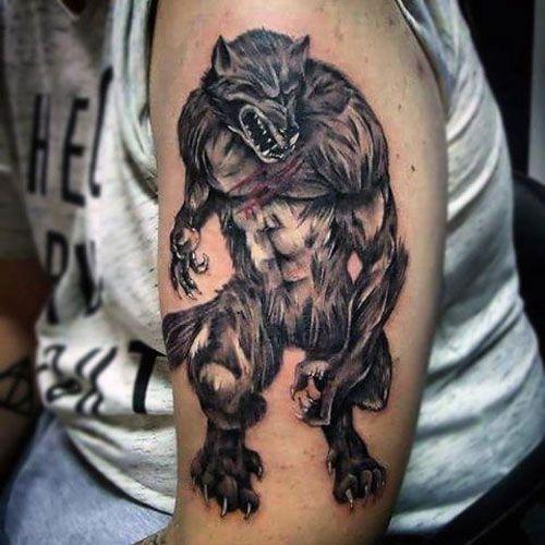 101 Best Wolf Tattoos For Men Cool Designs Ideas 2020 Guide Werewolf Tattoo Wolf Tattoos Wolf Tattoos Men