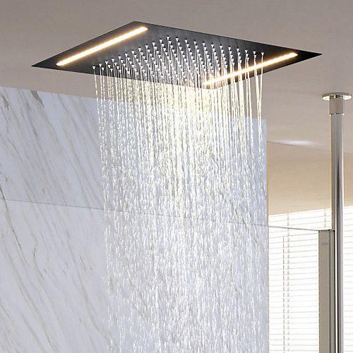 Contemporary Rain Shower Ti Pvd Feature Rainfall New Design