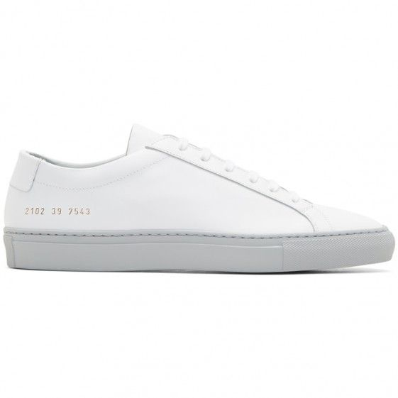 Common Projects White \u0026 Grey Achilles