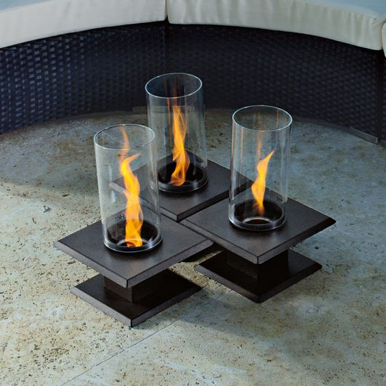 Allure Sedona Table Top Firepit