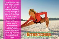 home remedies for leg cramps - Stretches