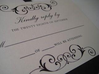 Brown and Ivory Wedding Invitation - Paper goods by Le Petit Papier - www.lepetitpapierbymonica.com