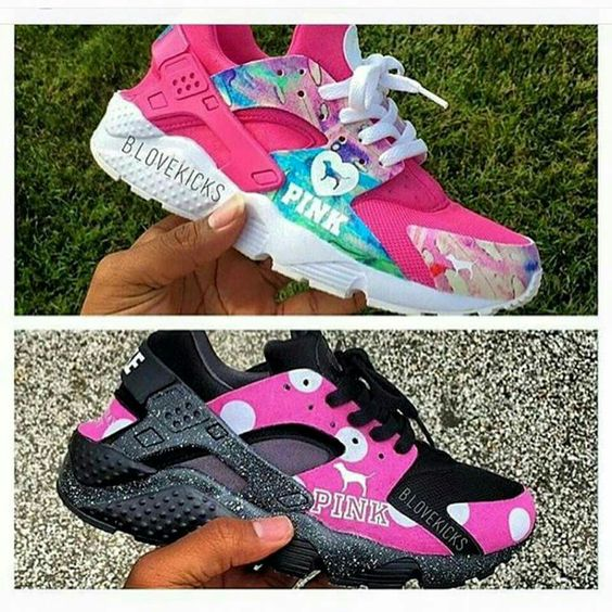 nike huarache custom Pink 84a0f700061409bedeb448aa314bf1d9