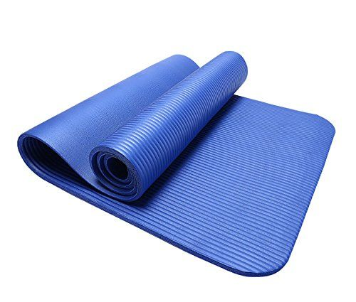 Blue Nbr 4 Yoga Mat Free Lifetime Replacement Plancarrying Strapgreat For Pilates Stretching All Those Health Fitness Nonslip Yoga Mat Mat Exercises Yoga Mat