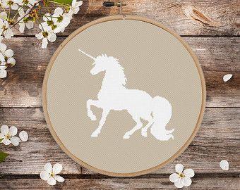 cross stitch unicorn – Etsy DE
