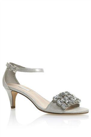 Silver jewelled heels http://www.next.co.uk/g38266s1#125409g38 ...