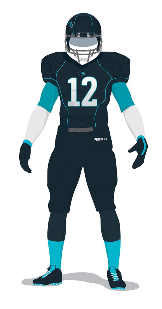 Carolina Panthers on Behance