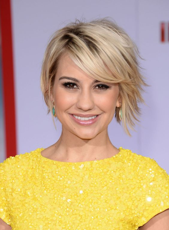 Her hair, Shaggy bob and Pictures of on Pinterest Chelsea Kane Baby Daddy Haircut