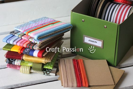 Ribbons Storage Organizer