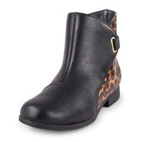 Mili Leopard Print Strap Boot $23 CP