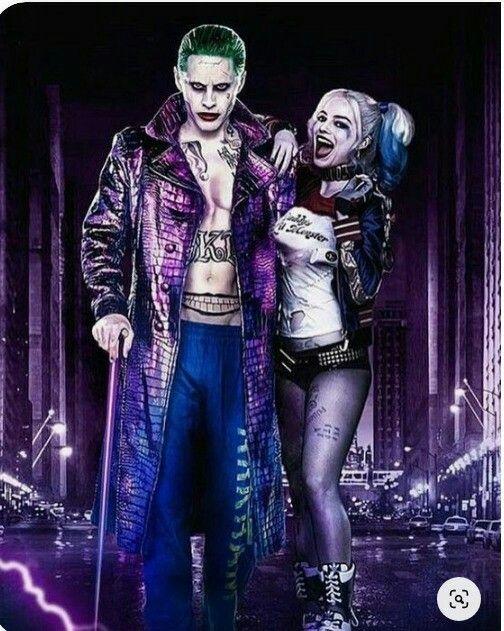 Harley quinn et le joker - Pinterest