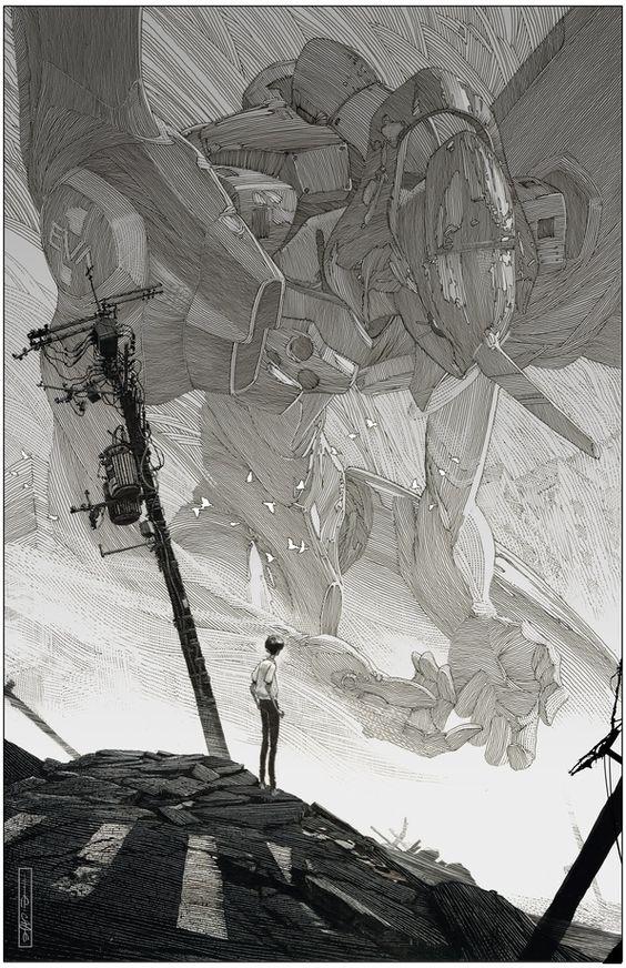 Голгофа, репродукция с картины Эвана Кагла - INPRNT