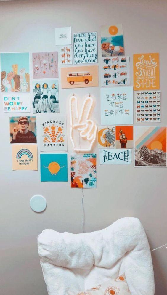 10 Tumblr Photo Wall Ideas Timothy Cuccia En 2020 Con Imagenes Decoracion De Pared Decorar Pared Habitacion Manualidades Para Decorar Habitacion