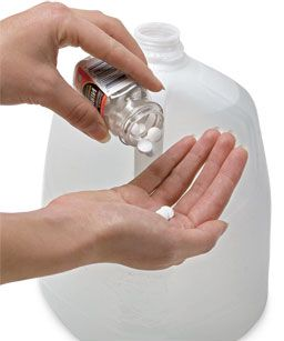 aspirin water- 2uncoated aspirin to a gallon of water to treat all plants.