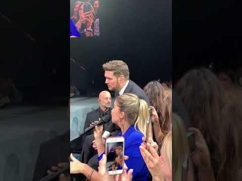 Michael Buble Pod Wrazemiem Polskiej Fanki Youtube