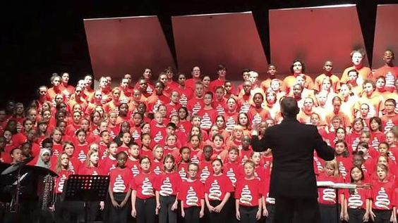 Ottawa school choir sings traditional Arabic song as a welcome to Syrian refugees || http://qoo.ly/793tj/0      #Ottawa #Syrian #refugee #Canada #Syria