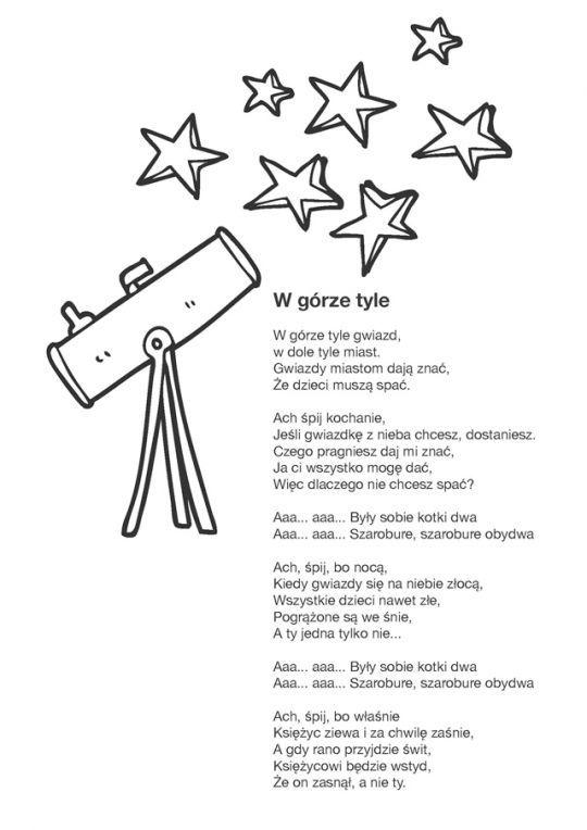 Oto Teksty Najpopularniejszych Kolysanek Ktore Mozesz Wydrukowac I Spiewac Swojemu Dziecku Na Dobranoc Do Piosenek Dla Dzieci Na Dobranoc Poems Kids Children