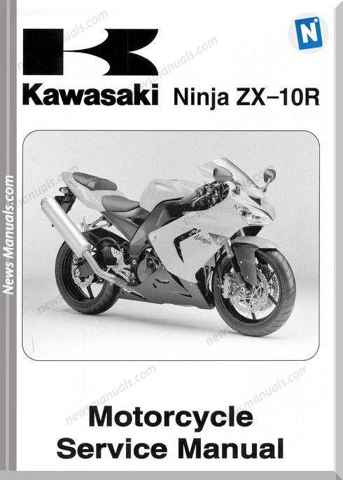 Kawasaki Zx10r Ninja 2004 Service Manual Kawasaki Zx10r