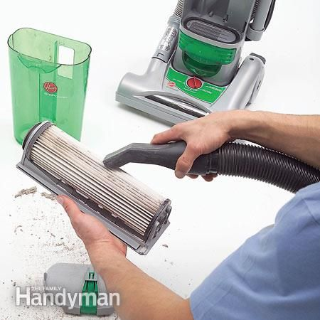 Clean a vacuum with a vacuum- The typical way to clean the filter of a bagless vacuum is to tap it against the inside of a trash can until most of the dust falls off. But that raises a cloud of dust and doesn't get the filter completely clean. For faster, neater, more effective filter cleaning, use your shop vacuum. Clean pre filter screens and post-filters the same way. Just remember to be gentle with the shop vacuum's nozzle. Some filters have a coating that you can scrape off if you...
