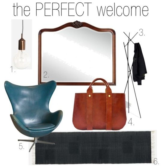 WEEKLY WISHLIST - entry way mood board -  at WeHeartHome #decor