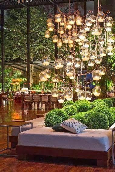 many little lights make amazing lighting outdoor garden spa spaces amazing outdoor lighting