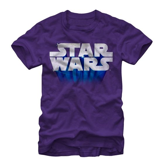 Star Wars Men's - Flying Logo T Shirt