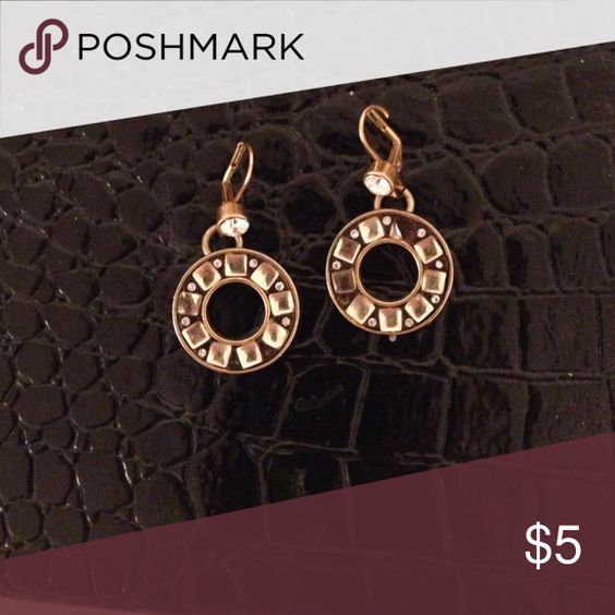 Betsey Johnson earrings. Missing a stone but still cute Betsey Johnson Jewelry Earrings