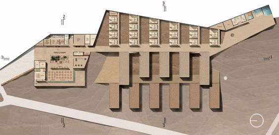 Segundo Lugar Hotel Concurso Hotel Residencial Alma / CPV Arquitectos