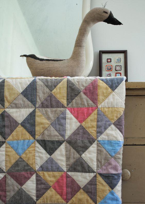 Patchwork Quilt von The Purl Bee