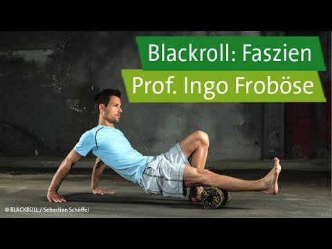 8 Min Blackroll-Übungen mit Prof. Ingo Froböse und Vanessa Blumenthal | Faszien