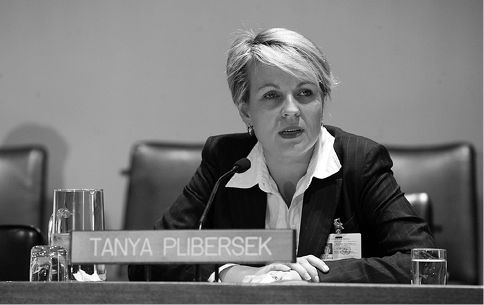 Tanya Joan Plibersek (1969- ): Australian politician, Member of Parliament for Sydney since 1998, and the Deputy Leader of the Opposition and Deputy Leader of the Labor Party since 2013. She previously served as Minister for Health, Minister for Human Services and Minister for Housing.