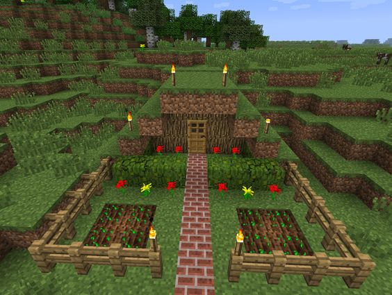 Cool stuff images cool things to build in minecraft for Things to include when building a house