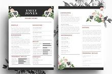 Creative CV in PSD and Word format