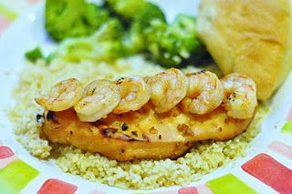 key west chicken and shrimp, almost copycat of Cheddar's