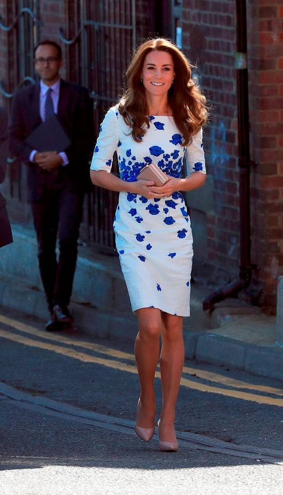 The Duchess of Cambridge arrive at Bute Mills in Luton, to tour the facilities of national charity Youthscape. - 24/08/2016 - Picture: Jonathan Brady/PA Wire