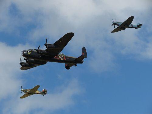 Roll call of honour ~ Spitfire, Lancaster, Hurricane