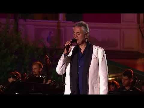 Andrea Bocelli Portofino Youtube Universal Music Portofino Andrea