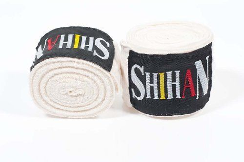 Hand Wraps - Pair - NATURAL by Shihan. $7.99. Hand Wraps - Pair -