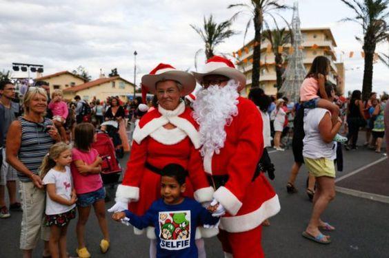 Noël à la plage   : Saint-Cyprien fête Noël en été !