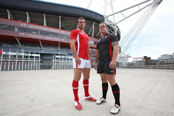 The 2011 Rugby World Cup kits