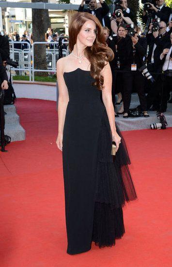 Lana Del Rey in Alberta Ferretti at Cannes Film Festival