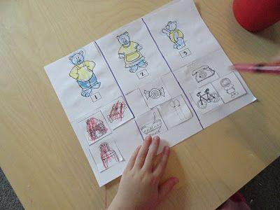 Izzie, Mac and Me: Goldilocks And The Three Bears!