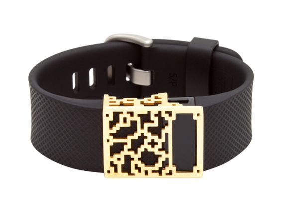 Positive Charge Slide Charge & Charge HR Fitbit Accessory By Bytten | Bracelets - AHAlife.com