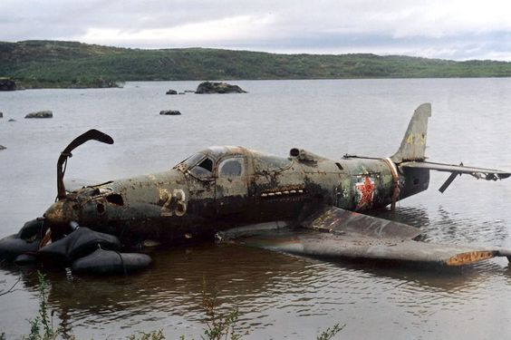 This Russian lend-lease P-39 Airacobra fighter was found in the River Don 70 years after its disappearance in combat.