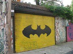 Garagem, Batman, Porta, Única, Urbanas
