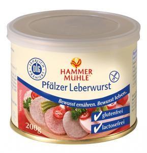 Pfälzer Leberwurst - glutenfrei