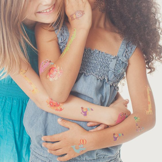 Temporary tattoos for kids