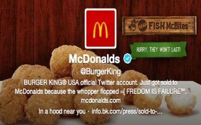 Anonymous hackeó el Twitter de Burger King, y le trajo 9.000 nuevos seguidores
