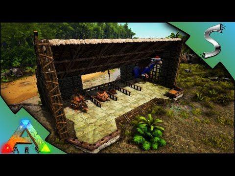 128 Utility Dino Pen Ark Survival Evolved S3e30 Youtube Ark Survival Evolved Ark Survival Evolved Bases Ark Survival Evolved Tips