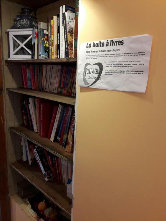 Boite à livres Pont-à-Celles 5